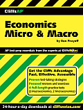 Economics Micro & Macro (Cliffs Ap) Cover