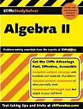Cliffs Study Solver Algebra II