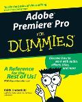 Adobe Premiere Pro for Dummies (For Dummies)