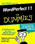WordPerfect 11 for Dummies (For Dummies)