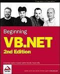 Beginning VB.net 2ND Edition Cover