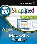 Mac OS X V.10.3 Panther (Top 100 Simplified Tips & Tricks)