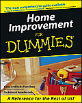 Home Improvement for Dummies. Cover
