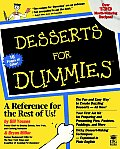 Desserts for Dummies 1ST Edition
