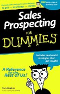 Sales Prospecting for Dummies (For Dummies) Cover