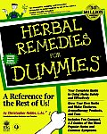Herbal Remedies for Dummies(r) (For Dummies)