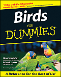Birds for Dummies(r) Cover