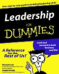 Leadership for Dummies.