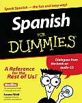 Spanish for Dummies with CD (Audio) (For Dummies) Cover