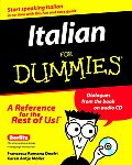 Italian for Dummies / With CD (00 Edition)