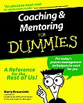 Coaching and Mentoring for Dummies (For Dummies) Cover