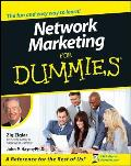 Network Marketing for Dummies. (For Dummies)