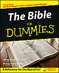 The Bible for Dummies (For Dummies) Cover