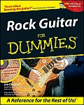 Rock Guitar for Dummies(r) with CDROM (For Dummies)