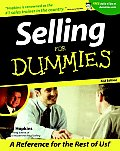 Selling for Dummies (For Dummies)