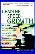 Leading At the Speed of Growth : Journey From Entrepreneur To Ceo (01 Edition) Cover