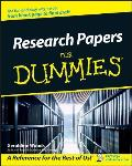 Research Papers for Dummies (For Dummies)
