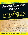 African American History For Dummies (For Dummies) by Ronda Penrice