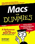Macs for Dummies 8TH Edition