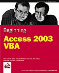 Beginning Access 2003 VBA Cover