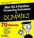 Mac OS X Panther Timesaving Techniques for Dummies (For Dummies)