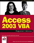 Access 2003 VBA Programmers Reference