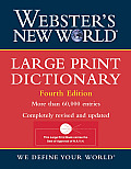 Webster's New Worldtm Large Print Dictionary