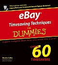 Ebay Timesaving Techniques for Dummies (For Dummies)