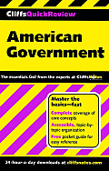 American Government (Cliffs Quick Review) - Study Notes
