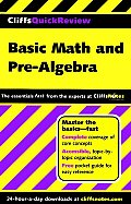 Cliffs Quick Review Basic Math & Pre Algebra 1st Edition