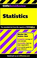 Cliffs Quick Review Statistics 1st Edition