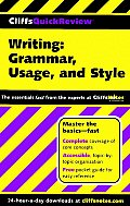 CliffsQuickReview Writing Grammar Usage & Style