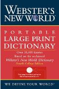 Webster's New World Large Print Dictionary (Webster's New World)