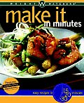 Weight Watchers Make It in Minutes Easy Recipes in 15 20 & 30 Minutes