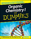 Organic Chemistry I for Dummies (For Dummies) Cover