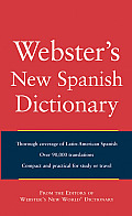 Websters New Spanish Dictionary