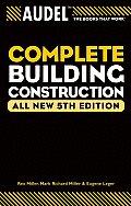 Audel Complete Building Construction