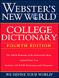 Websters New World College Dictionary With CDROM