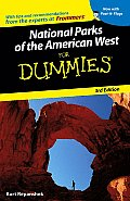 National Parks of the American West for Dummies with Sticker (For Dummies)