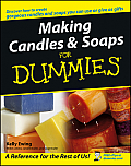 Making Candles & Soaps for Dummies Cover