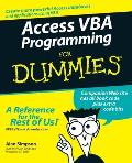 Access VBA Programming for Dummies (For Dummies)