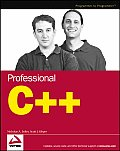 Professional C++ 1st Edition