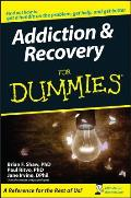 Addiction & Recovery for Dummies . (For Dummies) Cover