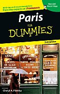 Paris for Dummies 3RD Edition