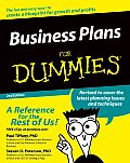 Business Plans For Dummies 2nd Edition
