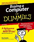 Buying A Computer For Dummies 2005 Edition