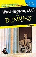 Washington DC for Dummies 3RD Edition