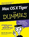 Mac OS X Tigerfor Dummies (For Dummies)