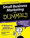 Small Business Marketing for Dummies 2ND Edition