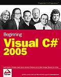 Beginning Visual C# 2005 Cover